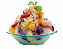 Tropical Mixed Fruit Snow Ice